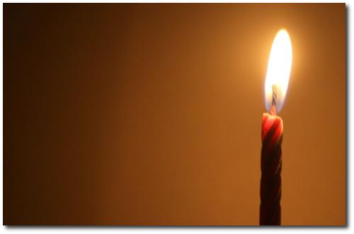Lilin Ulang Tahun