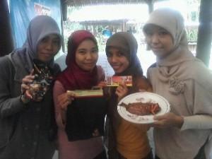 Tim pemenang lomba masak TU @resepmini *bareng mbak @tey_saja*